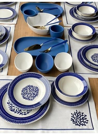ROSSEV Yemek Takımı Juliet 46 Parça 6 Kişilik Renkli